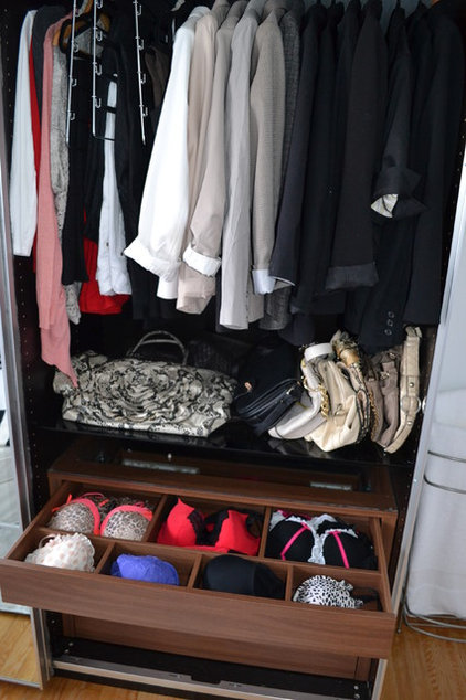 Contemporary Closet by Emily Tait Designs