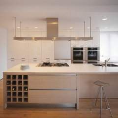 modern kitchen by Bushman Dreyfus Architects