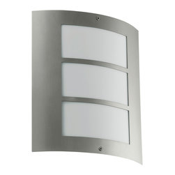 EGLO - Eglo 88139A Stainless Steel 1X15W Wall Light - EGLO 88139A Stainless Steel 1x15W Wall Light
