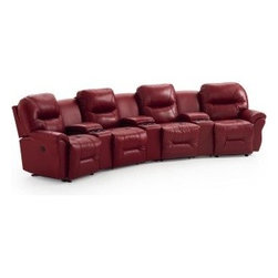 Recliner Sofa/Love Seats by Indoor and Out Furniture - Bodie living room sofa available at Indoor & Out Furniture. Available in: Leather