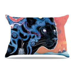 """Kess InHouse - Mat Miller """"Farseer"""" Pillow Case, Standard (30"""" x 20"""") - This pillowcase, is just as bunny soft as the Kess InHouse duvet. It's made of microfiber velvety fleece. This machine washable fleece pillow case is the perfect accent to any duvet. Be your Bed's Curator."""