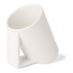 WS Bath Collections - Saon 44025 Ceramic Toothbrush Holder - Saon by WS Bath Collections, Toothbrush Holder, in Ceramic White