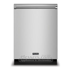 """Viking FDW100WS Dishwasher Replaces Viking D3 Dishwasher with Water Sofener - The Viking FDW100WS is the new rebranded replacement of the Viking D3 FDW100WS model.  The new model will feature the new """"Viking"""" nameplate shown in this image.  We will update the information on this product once it becomes available.  If you have any questions please let us know."""
