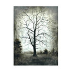 "Crestview - ""Sentinal"" Artwork - Maybe you can't see the forest for the trees when it comes to artwork. This aged tree definitely stands out — and stands strong — printed in black and grays on a large gallery-wrapped canvas. Add this piece anywhere you want a graphic punch with mystery and soul."