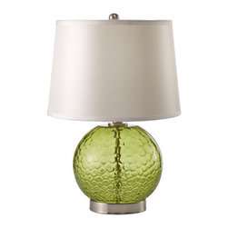 Murray Feiss - Murray Feiss PR242 Pack of 2 Showroom 1 Light Table Lamps with Round Shades - Features: