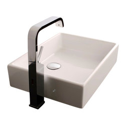 "WS Bath Collections - WS Bath Collections Unlimited Vessel Sink 19.7"" - Vessel or Over the Counter Installation"
