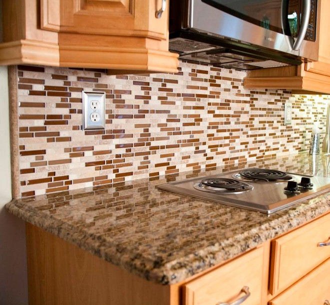 Granite Colors For Light Wood Cabinets