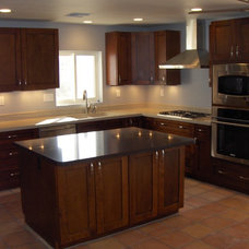 Traditional Kitchen by Intents Construction LLC
