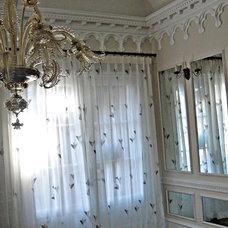 Mediterranean Curtains by Kite's Interiors