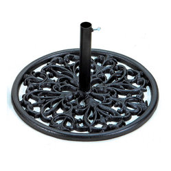 Umbrella Base: Florentine Cast Iron