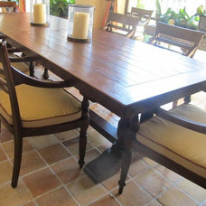 Mediterranean Dining Tables by Idlewild Furnishing