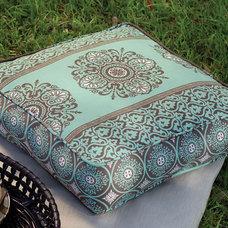 Outdoor Pillows by Melissa de la Fuente