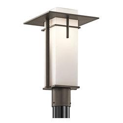 Kichler Lighting - Kichler Lighting 49646OZ Caterham Modern / Contemporary Outdoor Post Lantern Lig - Kichler Lighting 49646OZ Caterham Modern / Contemporary Outdoor Post Lantern Light