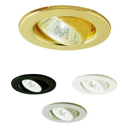 Nora Lighting - NM-130 Mini Halogen MR11 Surface Eyeball Trim - The Mini Halogen MR11 Surface Eyeball Trim is the ideal candidate for applications ranging from under cabinet illumination to various residential and commercial uses.