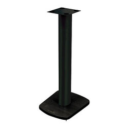 """Plateau - ST-Series 30"""" Fixed Height Speaker Stand (Set of 2) - Elegant yet modern and dynamic, the ST Series is designed to be a natural complement to our audio/video stands. The contoured upright centers are composed of extruded aluminum and is available in a black baked powder-coated finish. The centers and steel tops are finished in a virtually indestructible black, baked powder-coat finish. PLATEAU stands can be filled with lead shot or sand to increase stability and reduce annoying sound distortion. Features: -Black extruded aluminum poles.-Adjustable feet.-Wire management system.-Price includes pair.-Black finish.-Material: Steel/aluminum/wood.-Solid Wood Construction: No.-Distressed: No.-Adjustable: No.-Sand Lead Fillable: Yes.-Stabilizer Feet: Yes.-Isolation Spikes: Yes.-Floor Protection: Yes.-Speaker Compatibility: All speakers. Tops are 6"""" x 6"""".-Weight Capacity: 150 lbs.-Mounting Hardware Included: No.-Product Care: Windex / cloth to clean.Dimensions: -Base Width: 11.5"""".-Base Depth: 13"""".-Assembled Weight: 15 lbs.Assembly: -This unit typically takes 10-15 minutes of assembly.Warranty: -Product Warranty: 90 days."""