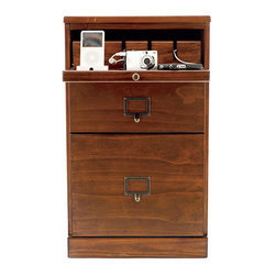 Ballard Designs - Original Home Office 3-Drawer Cabinet with Charger - If you have the space, this charging station is built into a cabinet. It's great additional storage!