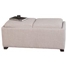 Contemporary Ottomans And Cubes by Great Deal Furniture