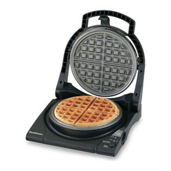 Chef'sChoice - Chef's Choice Waffle Pro Belgian Waffle Maker - The Chef's Choice Waffle Pro Express features a new modern design and a floating top plate. The 840 Belgian waffle maker is Chef's Choice most advanced waffle maker yet. In as little as 90 seconds, you'll be preparing the world's most delicious waffle