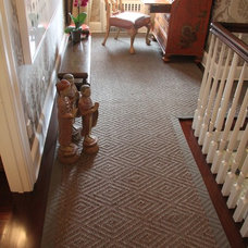 Traditional Hall by Custom Stair Runners