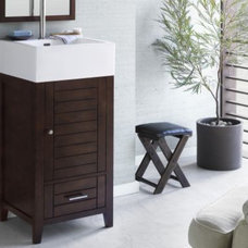 Contemporary Bathroom Vanities And Sink Consoles by Kitchen Kraft