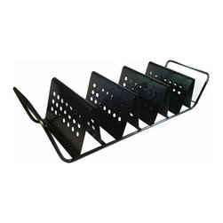 Zen Urban - 3 Taco Nonstick Baked Grill Rack - -Allows you to build and grill 3 tacos on the same pan