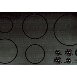 "Wolf 36"" Unframed Electric Cooktop -"