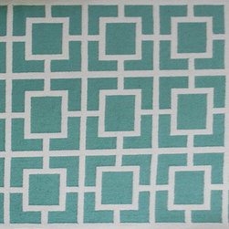 The Rug Market - LARSON ,Area Rug ,size   7X10 - This contemporary rug is made of UV Poly and will surely add color to any space