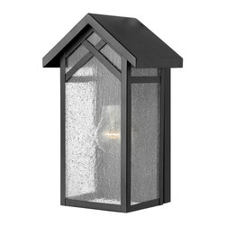 Hinkley - Hinkley Holbrook One Light Black Outdoor Wall Light - 1797BK - This One Light Outdoor Wall Light is part of the Holbrook Collection and has a Black Finish. It is Outdoor Capable.
