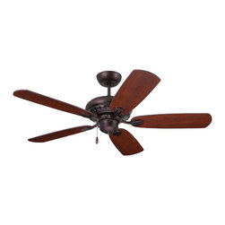 Emerson Ceiling Fans - Emerson Ceiling Fans CF810VNB Emerson  CF810VNB  Venetian Bronze with Dark Mahog - Emerson CF810 Avondale 52-in Ceiling Fan The simple adornment captured in the grill design of the Avondale ceiling fan, which is also mimicked on the