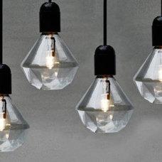 Contemporary Halogen Bulbs by Rockett St George