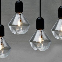 contemporary light bulbs by Rockett St. George