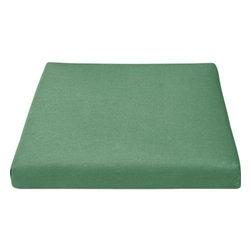 Regatta Sunbrella® Bottle Green Lounge Chair Cushion - Optional chic cushion in rich bottle green is fade- and mildew-resistant Sunbrella® acrylic.