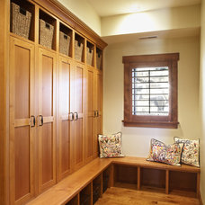 Traditional Closet Storage by Magleby Construction