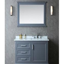 "Nantucket 42"" Single-sink Bathroom Vanity Set -"