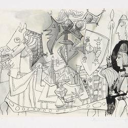 Pablo Picasso, Jeux de Pages, 24-3, Lithograph - Artist:  Pablo Picasso, After, Spanish (1881 - 1973)