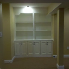 Modern Wall Shelves by Eppinette Construction LLC