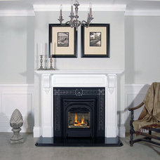 Traditional Indoor Fireplaces by OKELL'S FIREPLACE