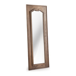 ZUO ERA - Amherst Mirror Distressed Natural - Amherst Mirror Distressed Natural