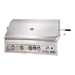 "Sunstone INFRARED 5 BURNER W/LIGHTS 42"" - Quick Overview"