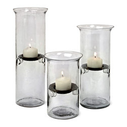 iMax - iMax Tealight Holders X-3-32617 - Goes great with in decor, these tealight holders' dramatic feel can elevate your room's sense of style.