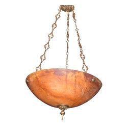 EuroLux Home - New 18-Inch Pendant Ceiling Light Bronze - Product Details