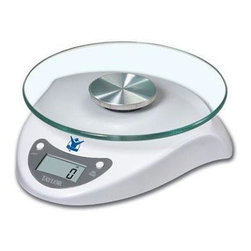Taylor - Digital Food Scale 6.5lb - Biggest Loser Taylor 6.5 lb. Digital Food Scale w/ Glass Top - lithium battery included