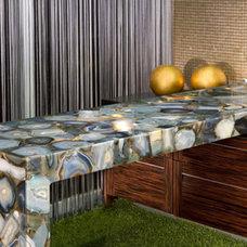 Modern Kitchen Countertops by Royal Stone & Tile