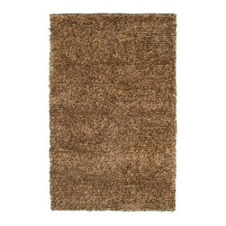 "Noble House - Marina Light Brown Rug - This Collection has a subtle and artistic fusion of thick rope like woolen yarn and specially mixed multi effect polyester yarn to provide the simple plush look to the modern interiors of home d cor. Features: -Technique: Woven.-Material: Polyester.-Depending on amount of traffic on rugs, professional cleaning or washing is required every 1 to 2 years..-Rugs should be vacuumed on regular basis to remove dust and dirt which would restore life to the fibers. Do not vacuum the fringes. Do not Vacuum Shaggy rugs as it will damage the rug. To clean the Shaggy rug, flip it over and shake well by hand..-To avoid spills setting deep and becoming stubborn, it is recommended to act immediately. When spills occur on rugs, put some water in the affected area to dilute, blot with clean white cloth or paper towel. Remove the moisture as much as possible by blotting with absorbent cloth or thick paper towel. Do not rub spills as could result in setting spills deeper in the affected area..-Features:Construction: Handmade.-Recommended Care:Do not expose rugs in direct sun light for longer time as it could result in faded colors of rugs..-Collection: Marina.-Distressed: No.-Collection: Marina.-Construction: Handmade.-Technique: Woven.-Primary Color: Light Brown.-Type of Backing: Latex.-Material: Wool & Polyester.-Fringe: No.-Reversible: No.-Rug Pad Needed: No.-Water Repellent: No.-Mildew Resistant: No.-Stain Resistant: No.-Fade Resistant: No.-Eco-Friendly: No.-Recycled Content: No.-Outdoor Use: No.-Product Care: In case of liquid, blot clean with undyed cloth by pressing firmly around the spill to absorb as much as possible..Specifications: -CRI certified: No.-Goodweave certified: No.Dimensions: -Pile height: 0.08''.-Overall Dimensions: 96-132'' Height x 60-96'' Width x 0.08'' Depth.-Pile Height: 1.25"".-Overall Product Weight (Rug Size: 5' x 8'): 45 lbs.-Overall Product Weight (Rug Size: 8' x 11'): 75 lbs.Warranty: -Product Warranty: No warranty."