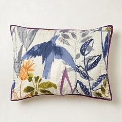 Anthropologie - Creature Hideaway Shams - *Part of our Hothouse Quilt collection
