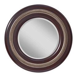 Feiss - Feiss MR1166MHG/ASL Saxon Mahogany Mirror - Feiss MR1166MHG/ASL Saxon Mahogany Mirror