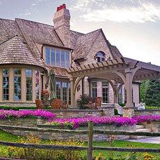 Traditional Exterior Tallgrass Lane Residence