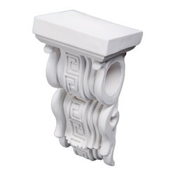 uDecor - CB-1484 Corbel - These corbels are for decorative use only. These should not be used for any structural support.