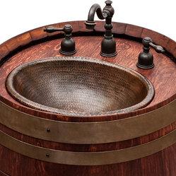 how to cut a door into a wine barrel