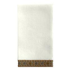 Gold Cuff Guest Towel  S/2 - Gold Cuff Guest Towel  S/2
